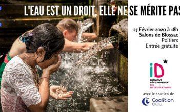 Conférence publique – L'eau est un droit-25 février à Poitiers