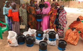 YAAKAAR Briquettes de coques d'arachide Sénégal