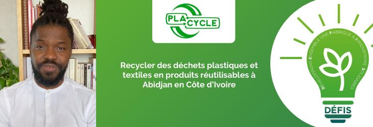 Recycler des déchets plastiques et textiles en produits réutilisables à Abidjan en Côte d'Ivoire