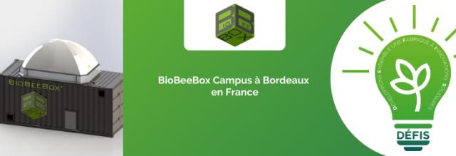 BioBeeBox Campus à Bordeaux en France