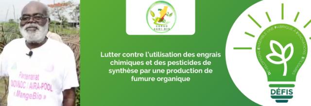Lutter contre l'utilisation des engrais chimiques et des pesticides de synthèse par une production de fumure organique