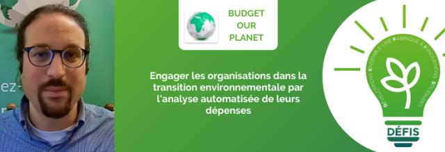 Engager les organisations dans la transition environnementale par l'analyse automatisée de leurs dépenses