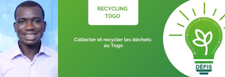 Structuration d'une entreprise sociale autour de déchets plastiques à Lomé au Togo