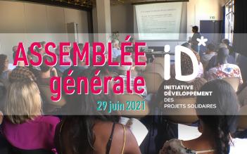 [AssembléeGénérale] RDV mardi 29 juin pour l'Assemblée Générale d'ID !